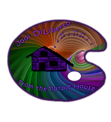 Logo for Jodi DiLiberto, From the Purple House