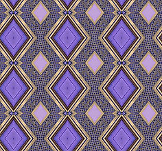 image of purple diamond pattern with golden frames,image by Jodi DiLiberto