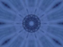digital mandala in blue, image of a blue mandala, digital art of tie-dyed blue scarf, image of tie-dyed blue scarf, digital art by Jodi DiLiberto