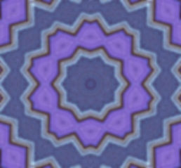 image of purple kaleidoscope with distressed blue frames, image by Jodi DiLiberto