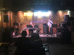 Performing at Fat Eddie's