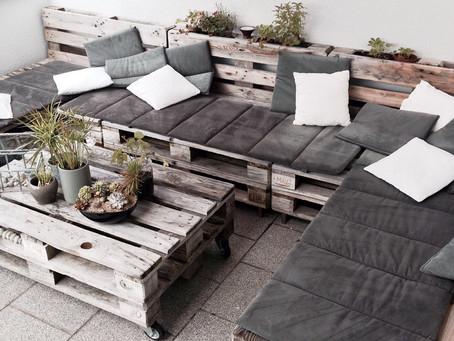 Мебель для дома из деревянных поддонов