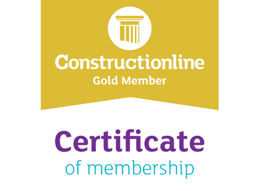 iON Consultants certified to Constructionline Gold