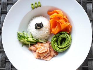 Sushi bowl - healthy fastfood