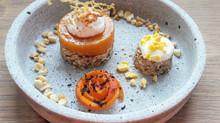 Apricot dessert vegan, gluten & sugar free!