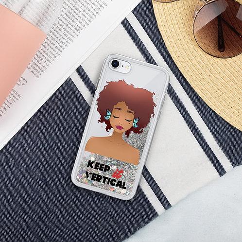 Hear No Evil Liquid Glitter Phone Case