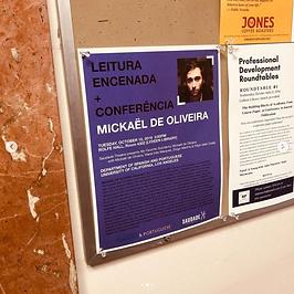 Saudade Theatre UCLA Poster