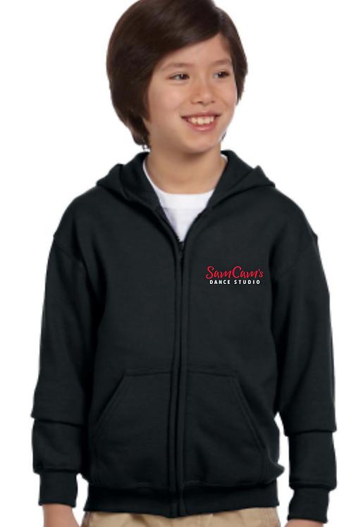 SamCam Youth Zipper Hoodie