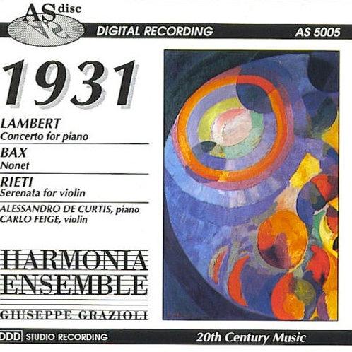 1931: LAMBERT, BAX & RIETI