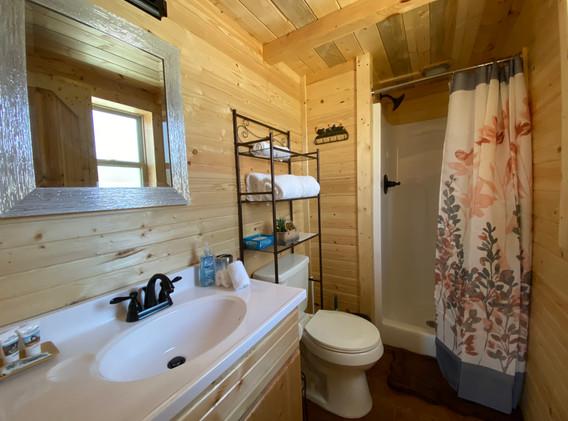 Pine Wood Bathroom