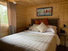 Lazy Bear Cabin Bedroom