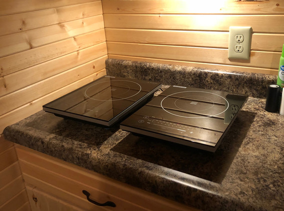 Two Induction Cook Tops