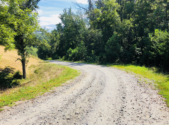 Gravel Driveway Down