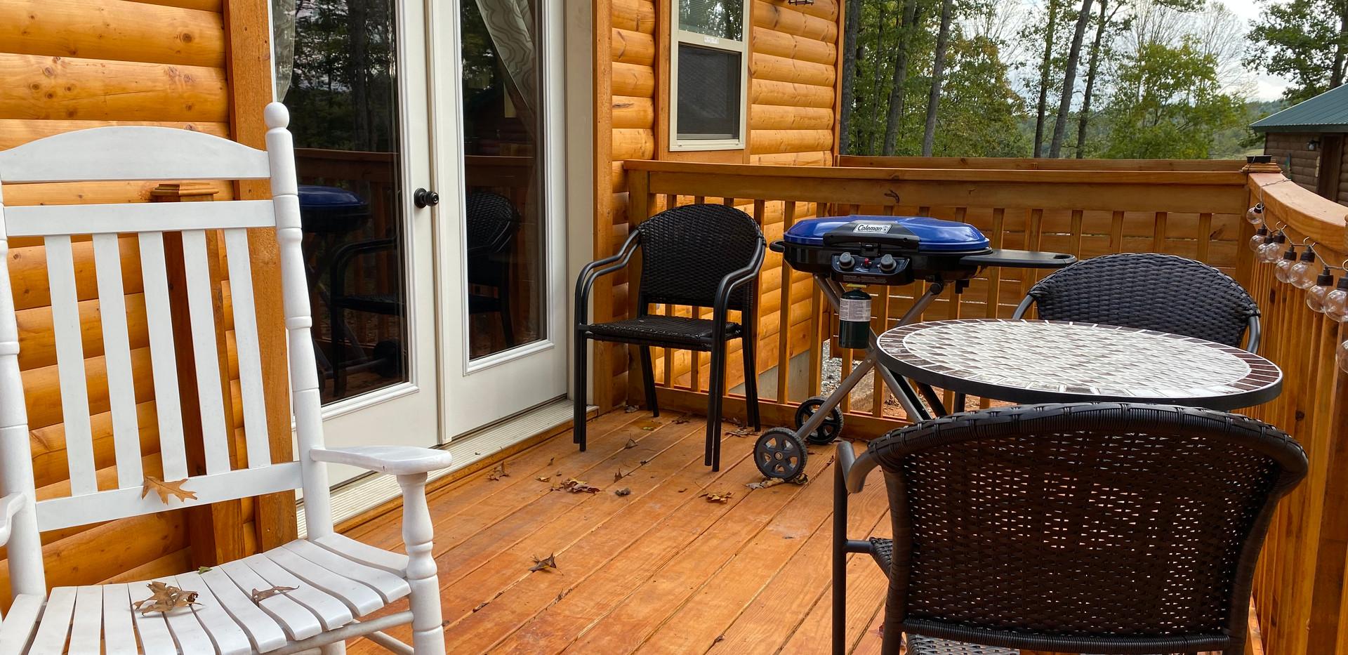 Outside Back Deck Area
