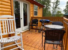 Mountain Breeze Back Deck BBQ