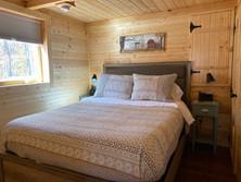 Pinewood Cabin Bedroom