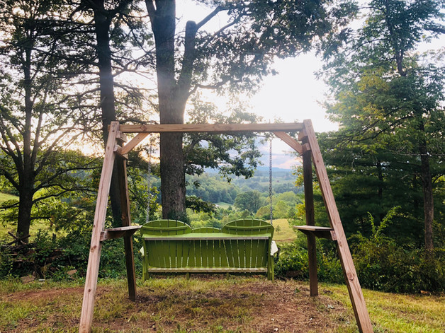 Green Swing at the Mountain Overlook