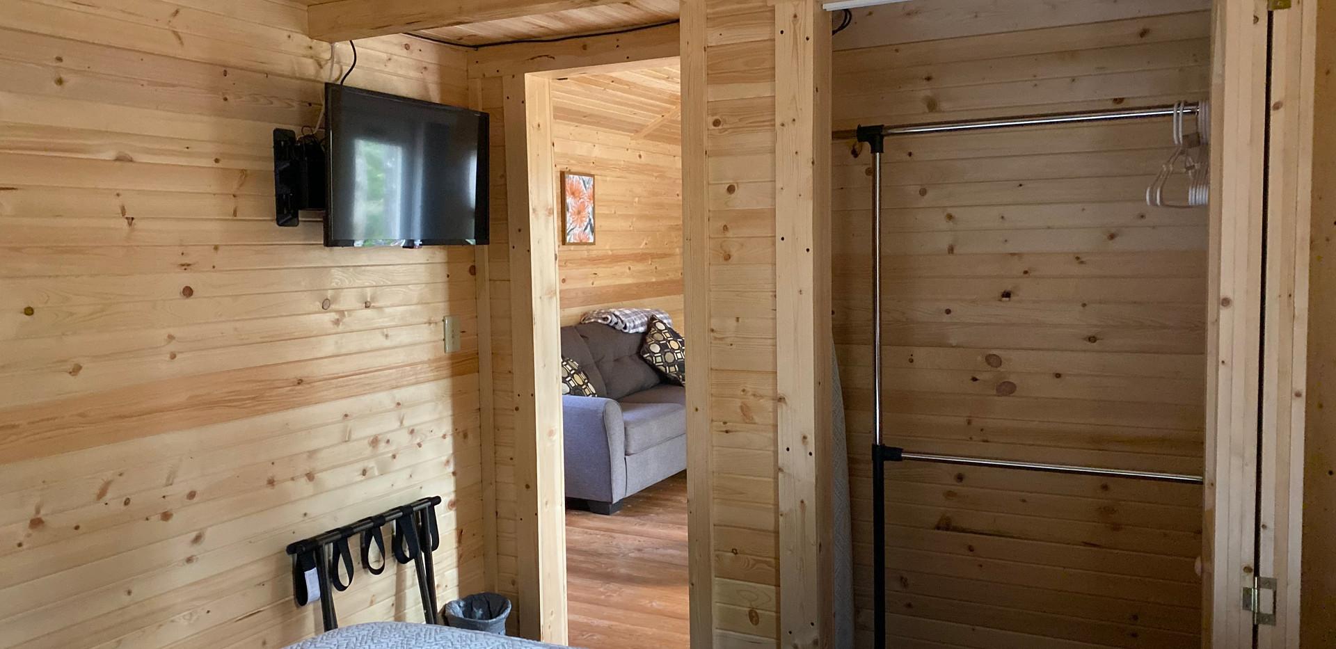Bedroom Closet/TV