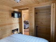 Lazy Bear Cabin Closet/TV