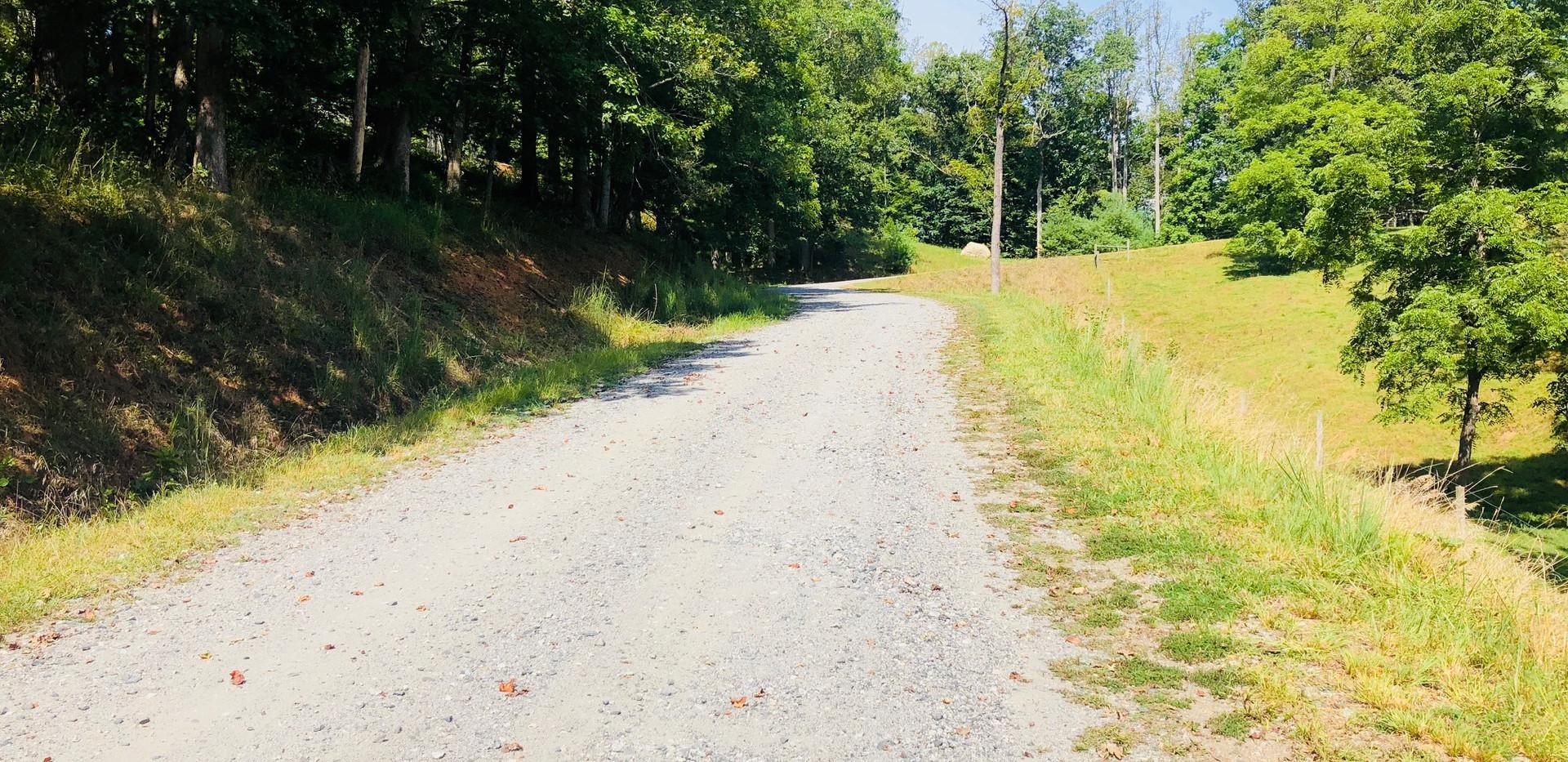 Gravel Driveway Up