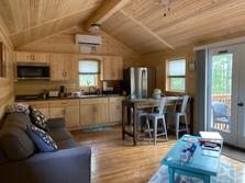 Lazy Bear Cabin Living Room