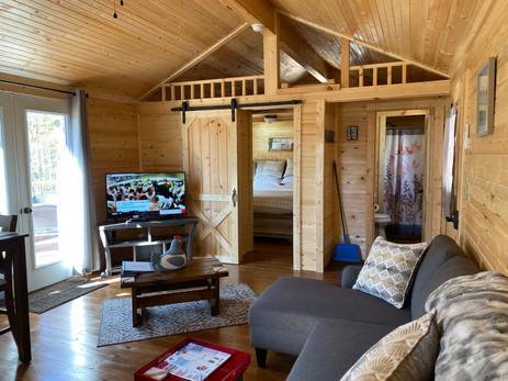 Pine Wood Living Room/Open Plan