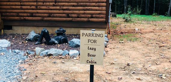 Lazy Bear Parking