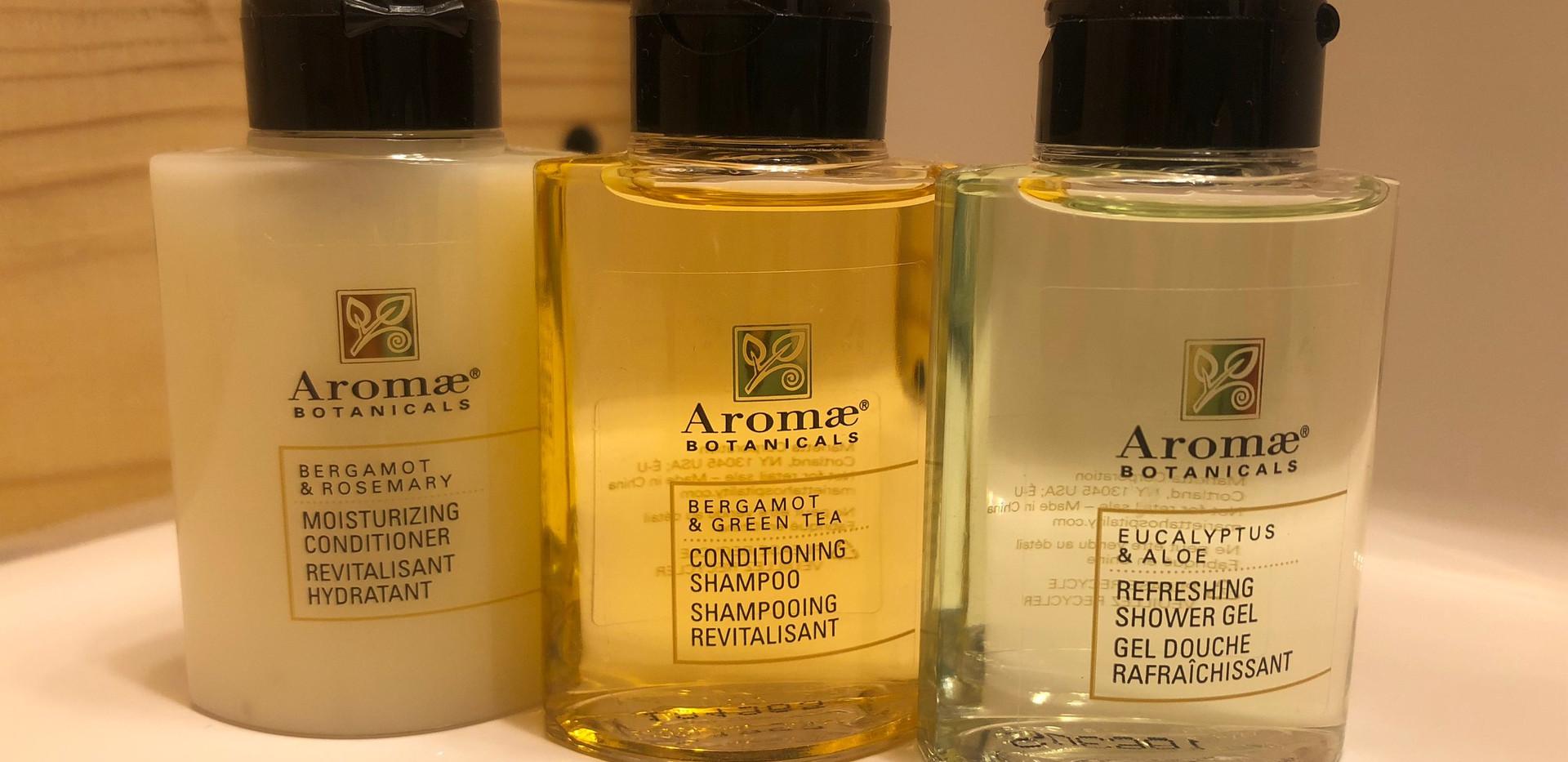 Shower Gel/Shampoo/Conditioner