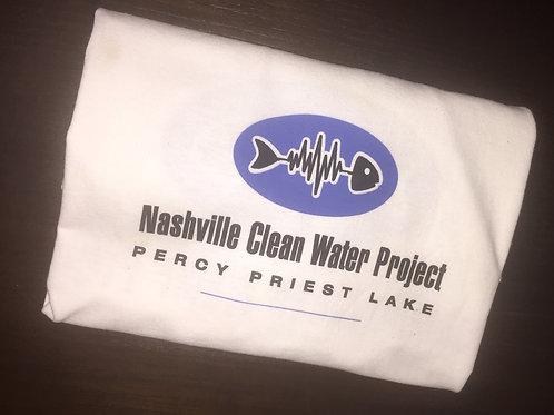 Percy Priest Lake logo T-Shirt — White