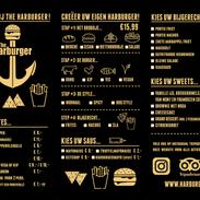 Harburger: Menukaart | Diner