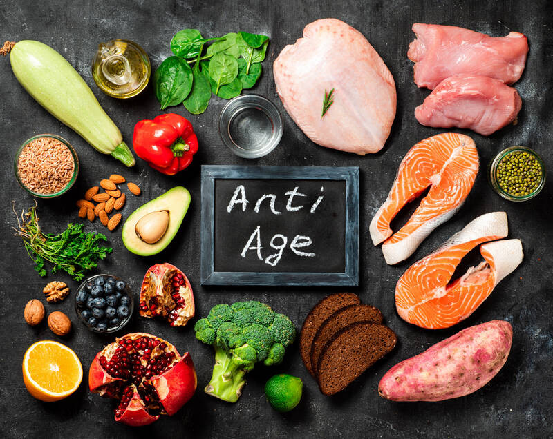 food choices for anti-age