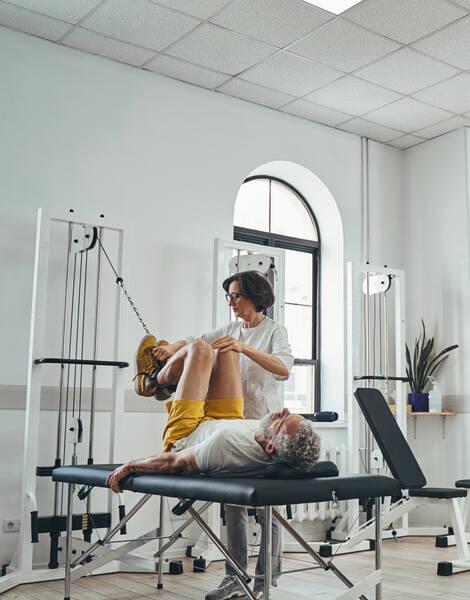 sports rehabilitation after sports injury