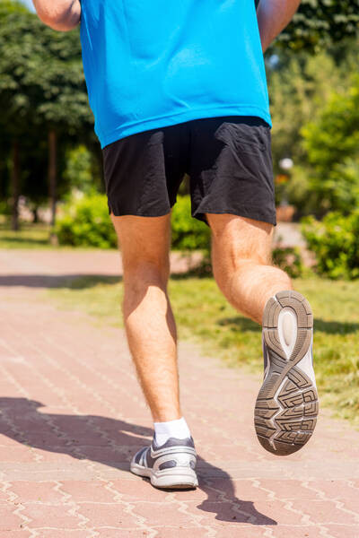 running and improving sports performance