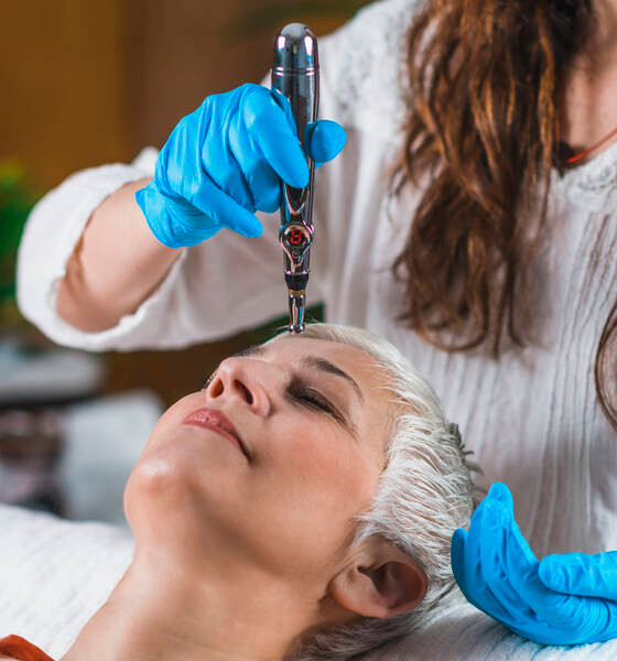relaxation through acupuncture meridian point therapy