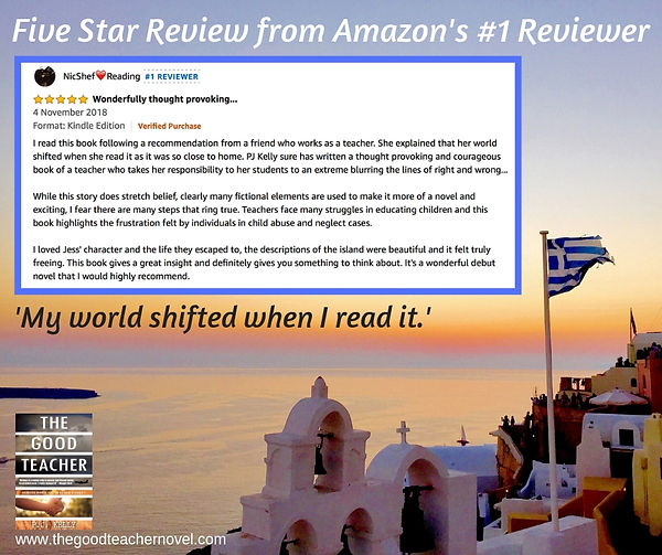 What an awesome review from Amazon's #1