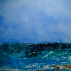 """""""Blue Depths""""(sold)"""