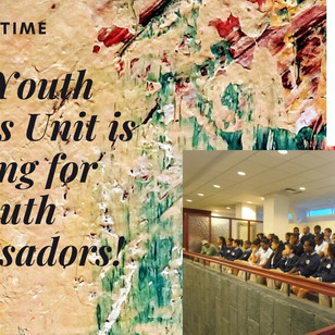 The Youth Services Unit is looking for Youth Ambassadors!