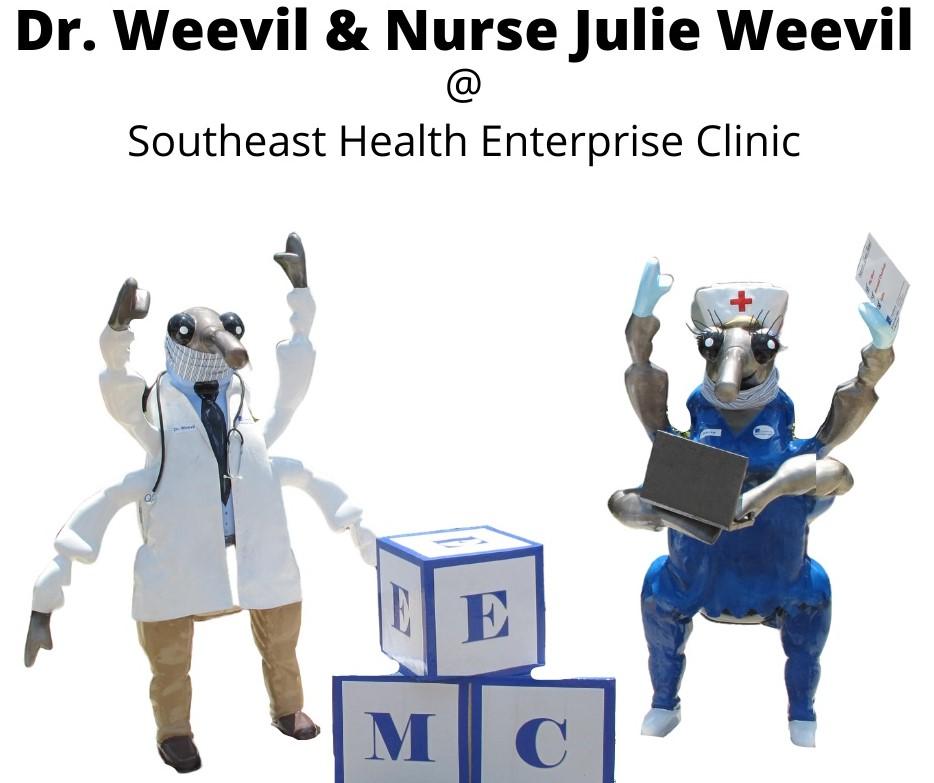 Dr. Weevil & Nurse Julie Weevil