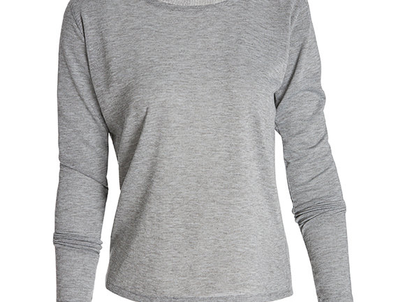 COCOON T-SHIRT LONG SLEEVES