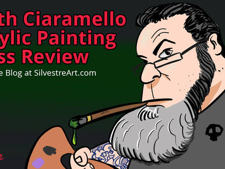 Keith Ciaramello Acrylic Painting Class Review