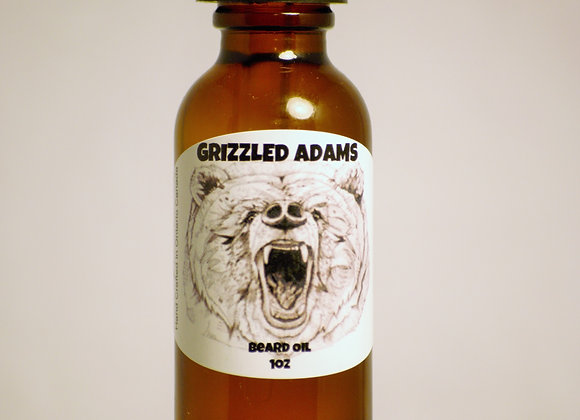 Grizzled Adams Beard Oil 1oz