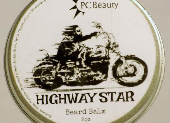 Highway Star Beard Balm 2oz