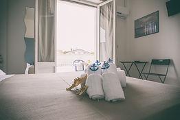 Camera doppia con balcone