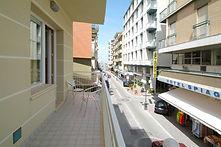Monolocale - Vista dal balcone