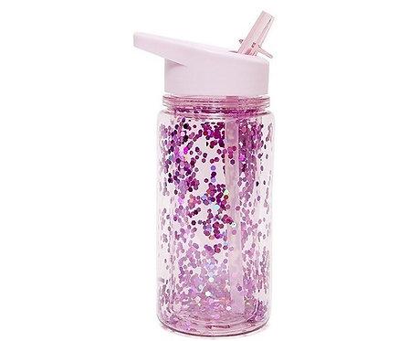 Bottiglia Tritan Glitter Orchid