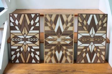 Wooden Quilt - Portrait
