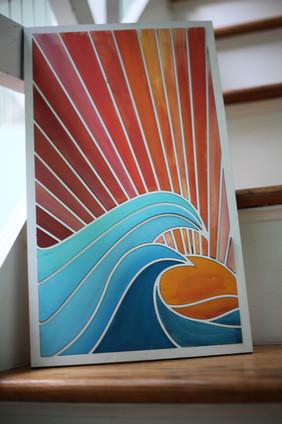 Catch a Wave Paint Party