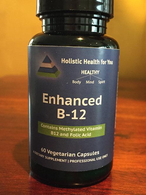 Enhanced B-12   with Folic Acid & Intrinsic Factor