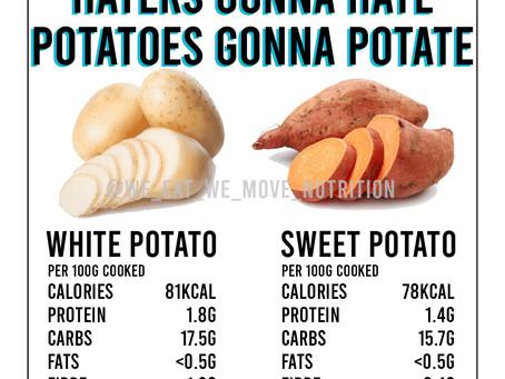 Sweet Potato Vs White Potato