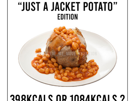 Why You Should Track Your Food Intake: Jacket Potato Edition🥔